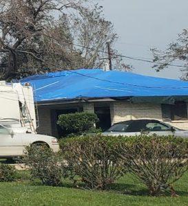 Operation Blue Roof Hurricane Laura
