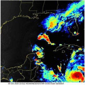 Hurricane Delta October 5th