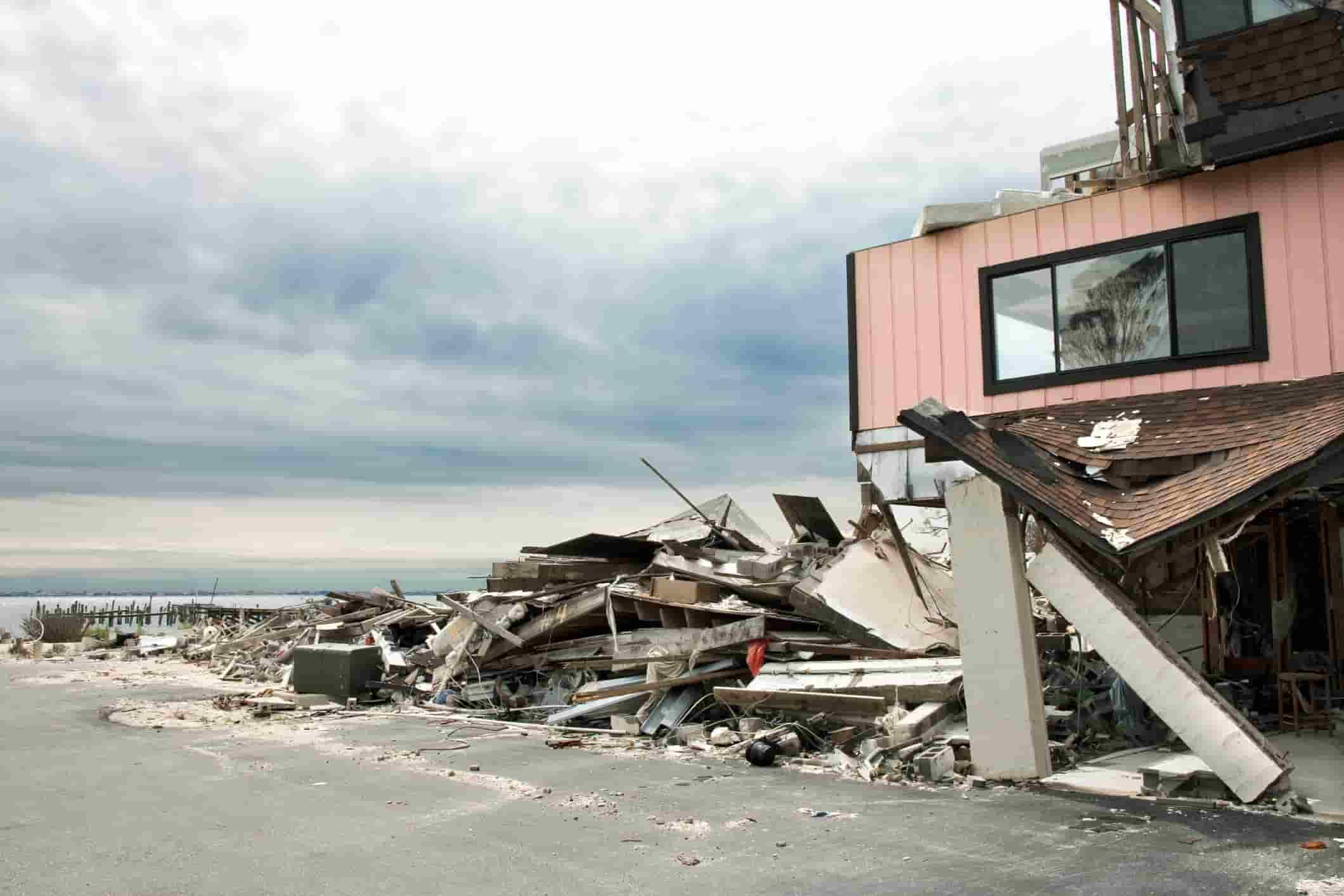 Hurricane Ida Property Damage Insurance Claim